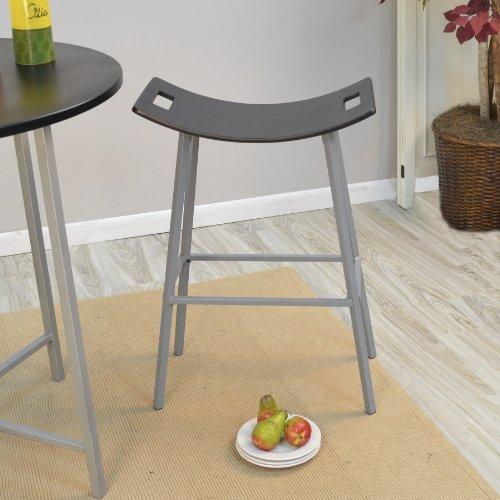 Carolina Chair & Table Gavin Bar Stool, Black