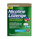 GoodSense Nicotine Lozenge, 2mg (nicotine), Mint, 72-count, 3x24p - Best Reviews Guide