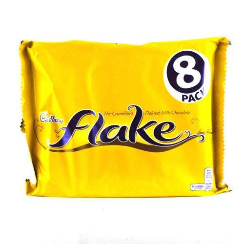 (British Chocolates Cadbury Flake Bar 25.6g 8 count)