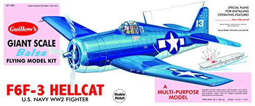 (Guillow's Grumman F6F-3 Hellcat Model Kit)