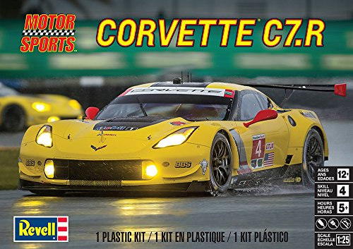 Revell Corvette C7.R Plastic Model Kit 3