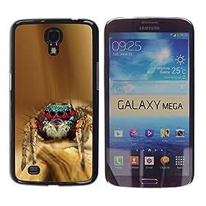 YiPhone /// Prima de resorte delgada de la cubierta del caso de Shell Armor - Cool Spyder Bro - Samsung Galaxy Mega 6.3 I9200 SGH-i527