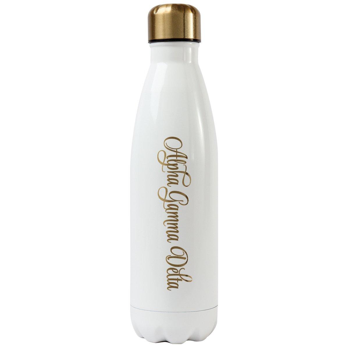 Alpha Gamma Delta Alexandra and Company Water Bottle, Delta Delta Delta