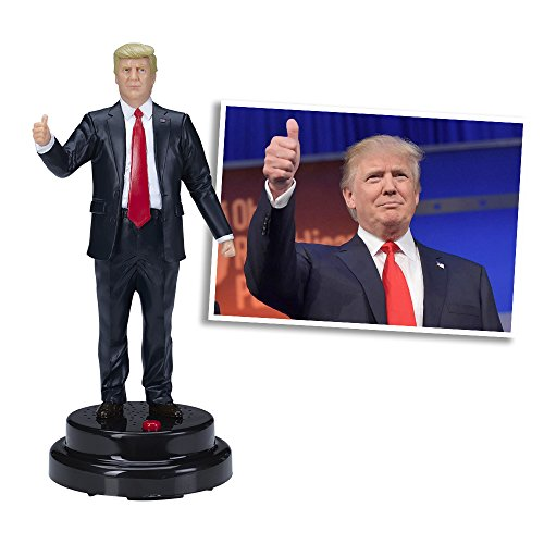 Donald Novelty & Gag Toys Trump Talking Figure, Says 17