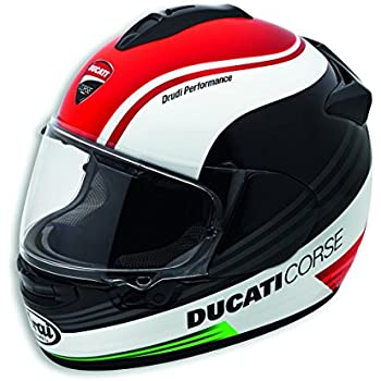 Ducati Corse SBK 3 Full Face Helmet 9810401 (M, RED)