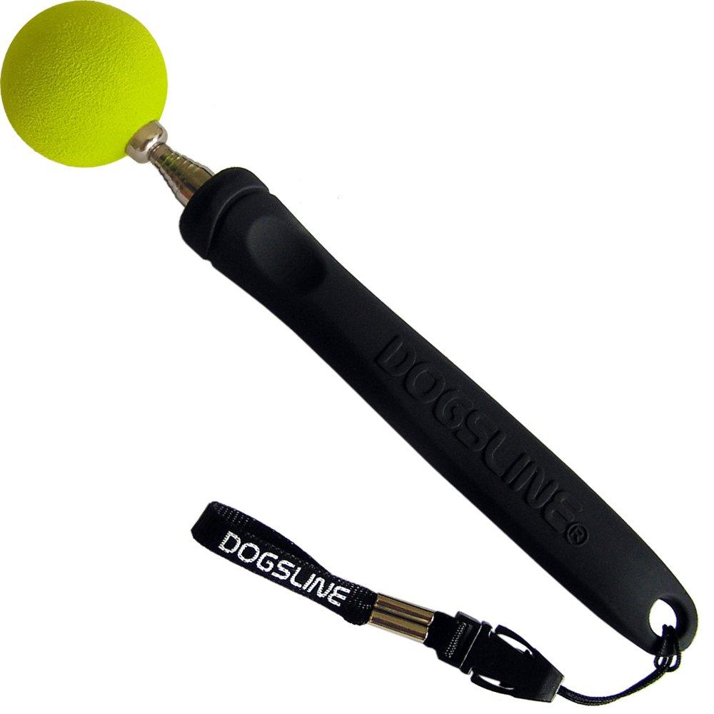 acciaio inox 17-73 cm nero DL11TS Cani Gatti Cavalli Clicker-Training Dogsline Target Stick per addestramento formazione e training