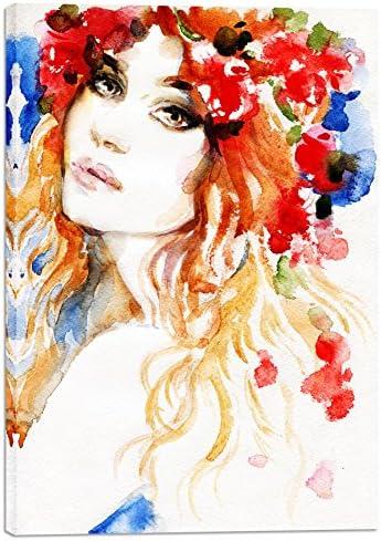 "Cortesi Home ""Spring Love Giclee Canvas Wall Art"