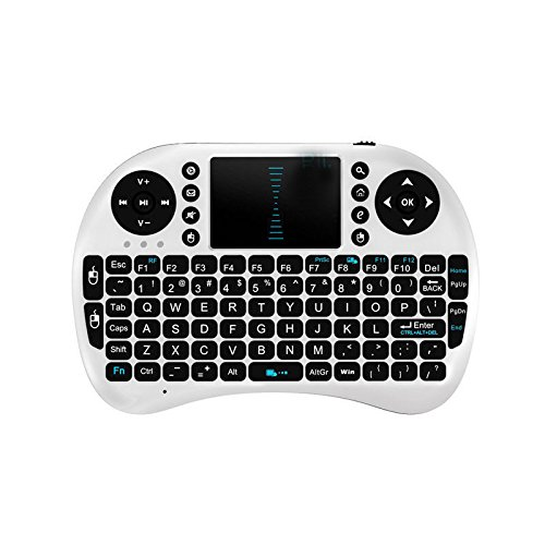 Aizbo Mini 2.4ghz Wireless Keyboard Mouse Multi-media Remote Control Touchpad Handheld for Android Tv Box and Google Smart Tv,pc, Pad, Xbox 360, Ps3(white)