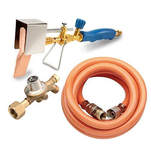 CFH Set saldatoio plastica di propano tubo di rame e regolatore di propano loeten loetset