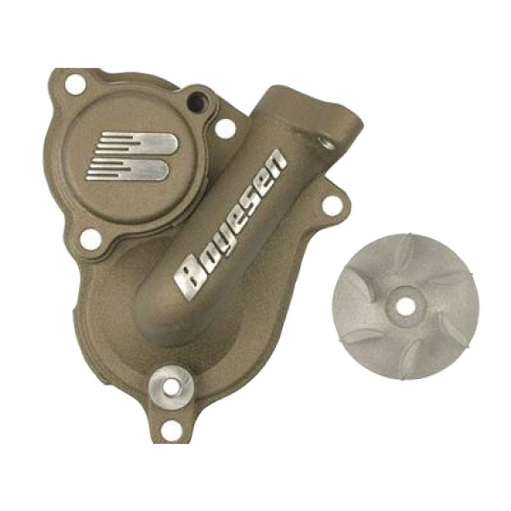 Boyesen Supercooler Water Pump Cover and Impeller Kit Magnesium - Fits: Honda TRX 450R 2006-2009