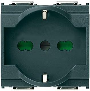 Conmutador 1 polo 16ax gris Vimar serie idea
