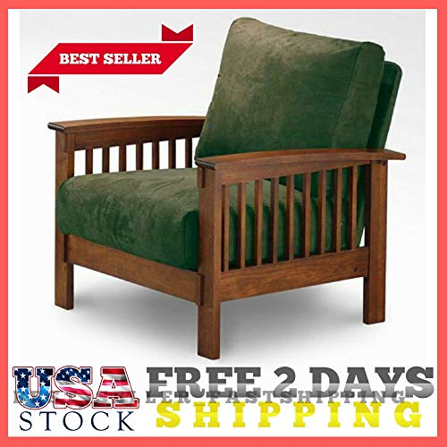 Chippendale Arm Chair Finish - Living Room Decor Olive Green Mission Style Oak Accent Chair Living Room Arm Chairs Green Rust Armchairs New