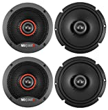 (4) MB QUART FKB116S 6.5' 240 Watt Slim Shallow Mount Car Audio Speakers