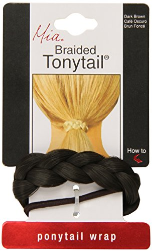 Mia Beauty Braided Tonytail Brown product image