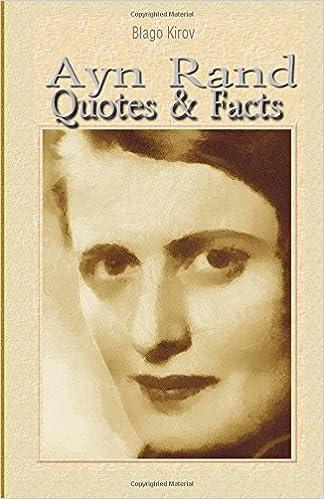 Ayn Rand Quotes Facts Blago Kirov 9781508495505 Amazon