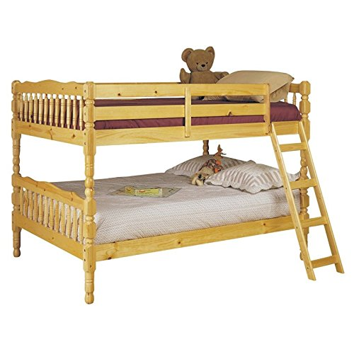 BOWERY HILL Full Over Full Bunk Bed in Natural