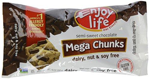 Enjoy Life Semi Sweet Chocolate Mega Chunks - 10 oz