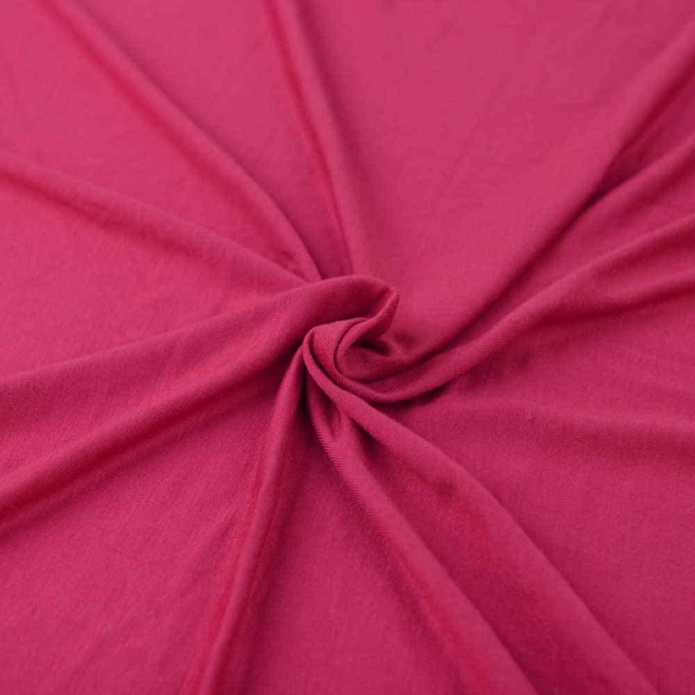 FabricLA Cotton Spandex Jersey Fabric 6 oz 1 Yard, Avocado
