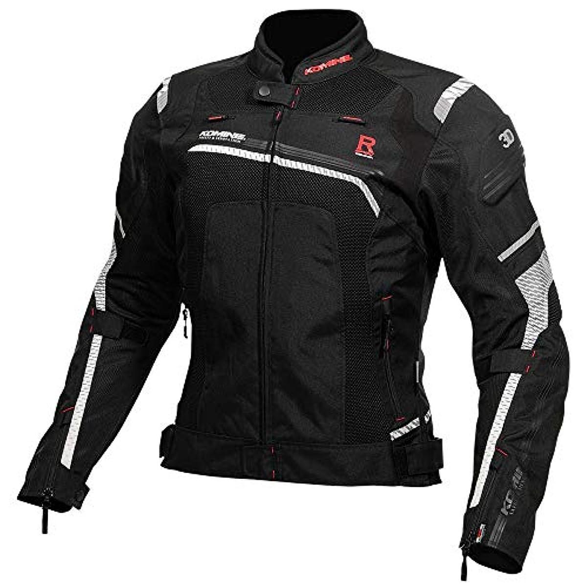 [해외] 코미네 KOMINE 오토바이 R스펙 메쉬 재킷 아우터 프로텍터 통기성 레이싱 BLACK XLJK-130 07-130