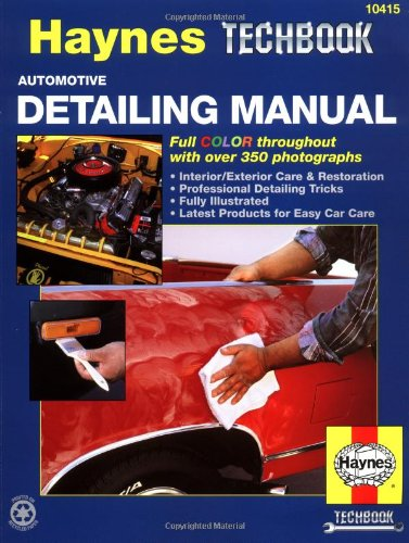 Automotive Detailing Manual (Haynes Techbook)