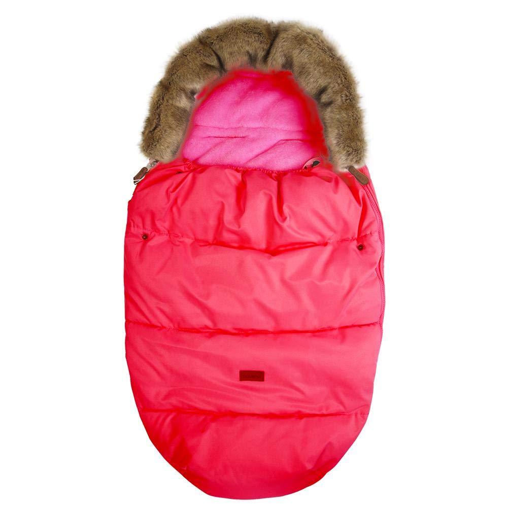 Dreameryoly Swaddle Blankets For Babies - Baby Bunting - Cochecito Saco de bebé Cubierta de Asiento de Auto para bebé Saco de Paseo y Saco de Dormir Color: Rojo, Rosa, marrón, Verde. marrón