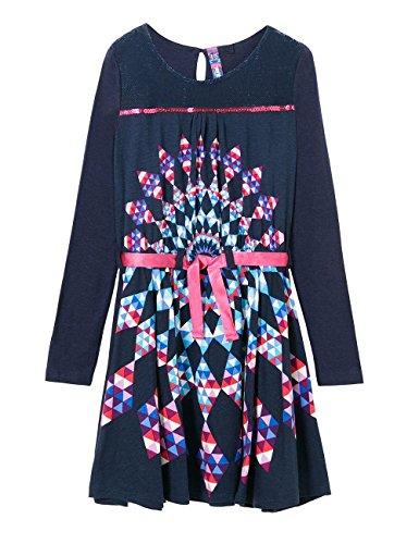 Desigual Little Girls' Dress Adis, Estado, 5/6 by Desigual