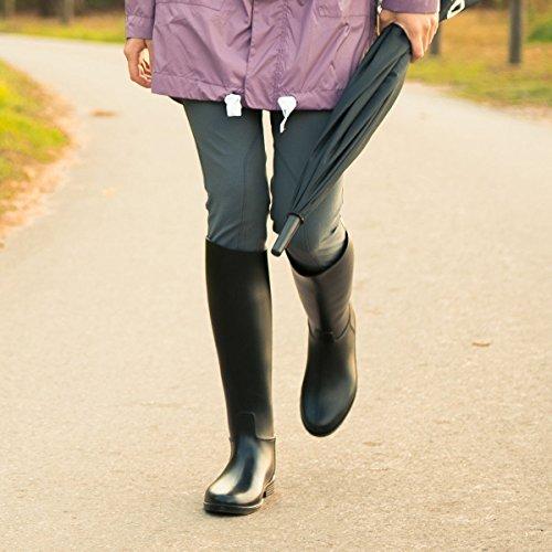 Stivali Da Equitazione In Gomma Horze Chester Premium Neri (bl)