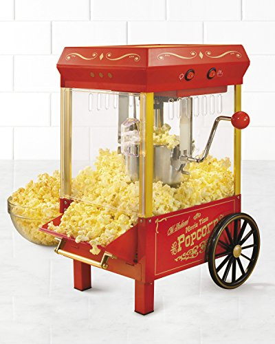 a small pop corn machine - 3