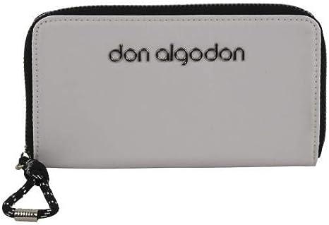 Don Algodón Billetero cartera Casual Blanco 18x10 cm: Amazon.es: Equipaje