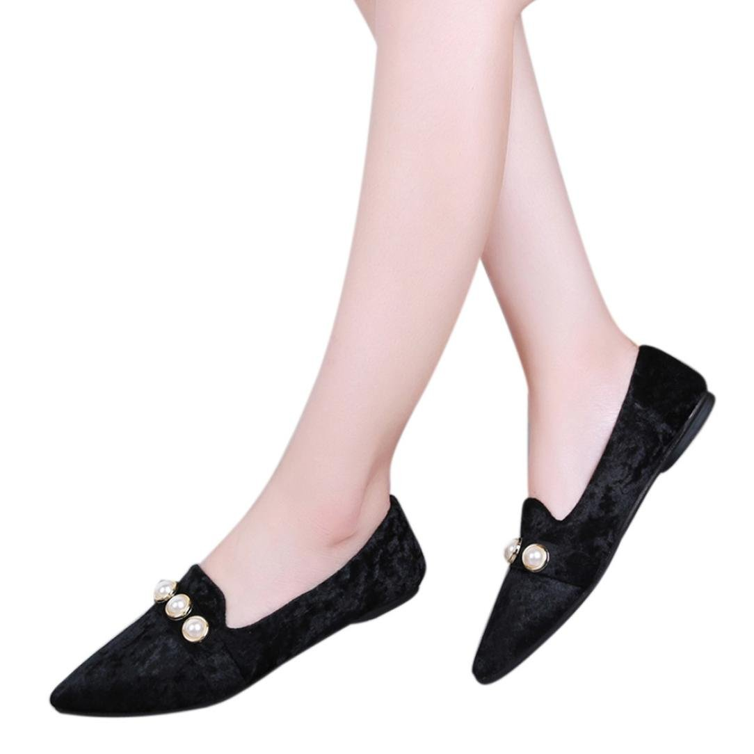 22bceb8863dad Amazon.com: Amiley Women Ballet Flats Shoes, Women Flats Pointed Toe ...