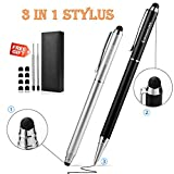 Stylus - 3-in-1 Stylus Pens for Touch Screens - Capactive Stylus for ipad - iPhone - Smartphones - Tablets PC(5.7