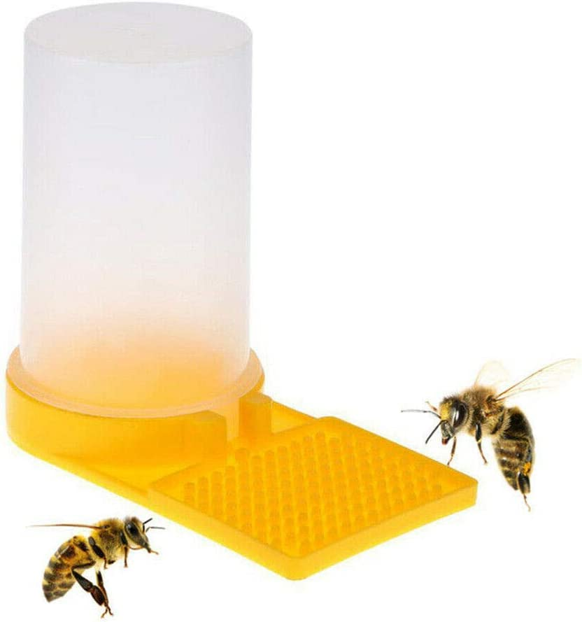 2x Bee Trinkbrunnen Biene Bienenkönigin Wasserverteiler Zubehör ^ CFSO