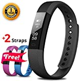 Fitness Tracker - Fitness Watch - Activity Tracker - Pedometer Watch Bracelet - Smart Band Wristband - Step Tracker Counter Sleep Monitor Sports Waterproof Trackers Watches - Device for Women Men Kids
