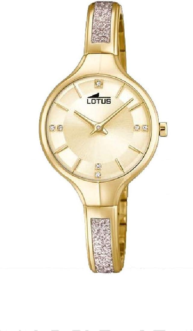Lotus Reloj para de Cuarzo con Correa en Acero Inoxidable 18595/2