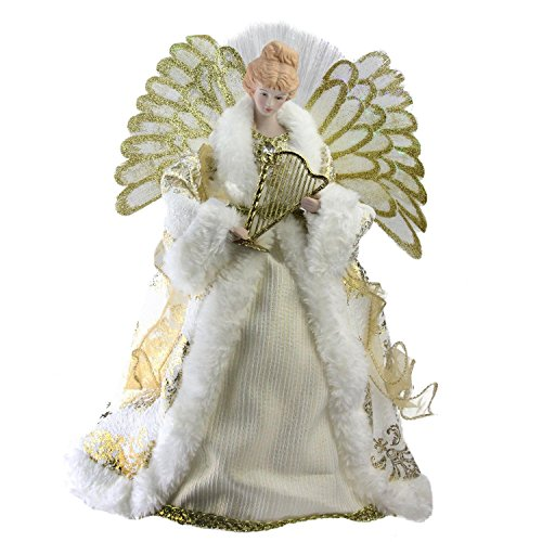 Northlight NL00919 Fiber Optic Angel in Gown Christmas Tree Topper by Northlight