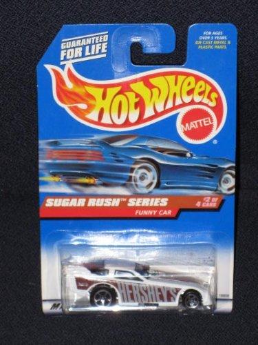 1997 Hot Wheels - Sugar Rush Series - Hershey's - Funny Car #2 of 4 - Hot Wheels Sugar