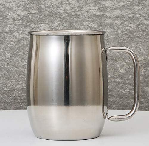 Doble Taza Grande De Acero Inoxidable Taza De Cerveza De Gran Capacidad Hogar Suministros De Barra De Vidrio Para Beber