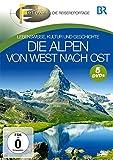 Die Alpen von West nach Ost