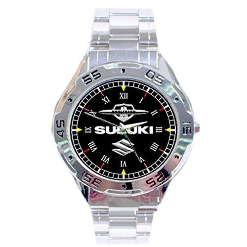 mrzk128-new-rare-suzuki-boulevard-custom-casual-chrome-mens-watch-wristwatches