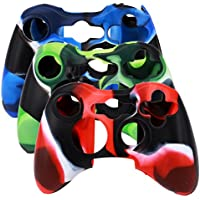 SunAngel® New Silicone Cover Case Skin for Xbox 360...