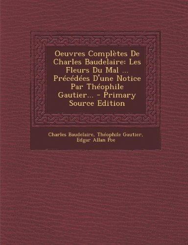 Baudelaire Les Fleurs Du Mal [Pdf/ePub] eBook