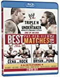 WWE: Best Pay-Per-View Matches of 2012 [Blu-ray]