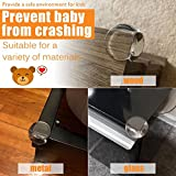 Corner Protector, Baby Proofing Table Corner Guards, Keep Child Safe, Protectors for Furniture Against Sharp Corners (24 Pack) by CalMyotis