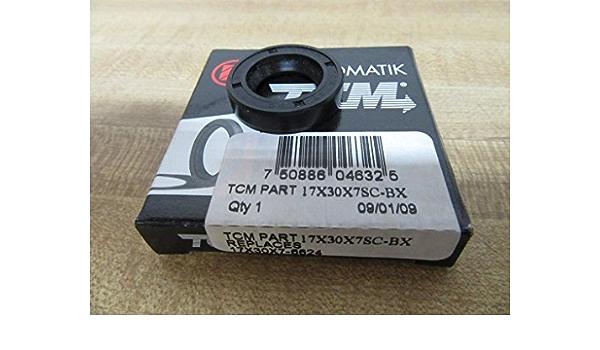 0.669 x 1.181 x 0.197 0.669 x 1.181 x 0.197 Dichtomatik Partner Factory Buna Rubber TCM 17X30X5TC-BX NBR //Carbon Steel TC Type Oil Seal