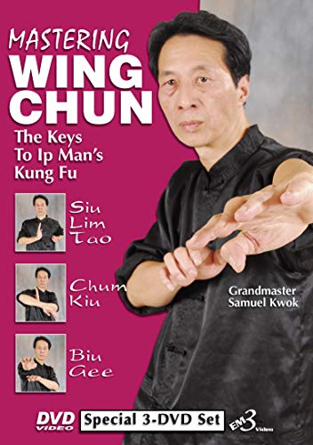 Wing Chun Vol-1,2,3 DVD Set