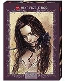 Heye 29430 Victoria Francés - Puzzle (1000 piezas), diseño de chica con rosa negra