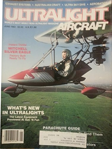 June 1983 - Instant Thrills! Mitchell Silver Eagle, Factory Built Ready to Fly ()