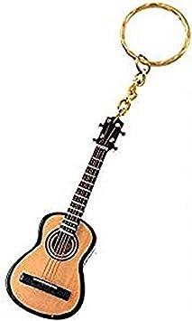 2503-25353-Llavero «Guitarra española» en Madera 7,5 centimetros ...