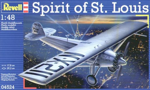 Maqueta del Aeroplano Spirit of St Revell 04524 Escala 1:48 Louis