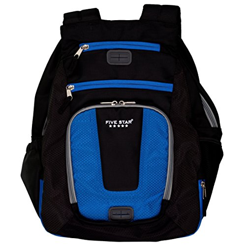 Acco Five Star Backpack, Ultimate Tech, Back Pack, Blue (...